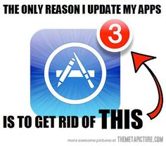 Why I update my apps…