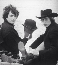 Syd Barrett and Roger Waters