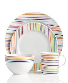 THOMAS by Rosenthal Dinnerware, Sunny Day Stripes Collection - Dinnerware - Dining & Entertaining - Macy's