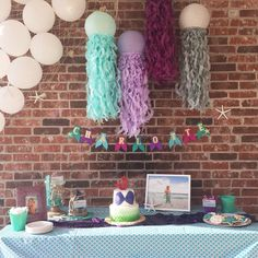 Recycled Paper Jellyfish Lanterns| Plum, Aqua, Soft Lavender and Gray Jellyfish Quotes, Jellyfish Sting, Watercolor Jellyfish, Jellyfish Aquarium, Spongebob Painting, Lantern Designs, Mermaid Diy, Mermaid Parties, Diy Wallpaper