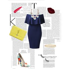 Sans titre #15 by julie-buathier on Polyvore featuring polyvore, mode, style, Alice + Olivia, Wallis and Kate Spade