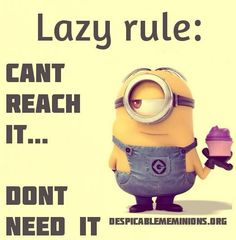 LAZY RULE...
