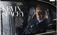 Kevin Spacey para GQ Reino Unido