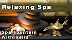 Relaxing Zen Spa Fountain with Bells | Water Sounds | Sounds To Sleep To...