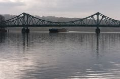 Glienicke Bridge in Potsdam, Germany