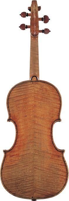 "1744  Guarneri Del Gesu Violin  ""Ole Bull"" from The Four Centuries Gallery"