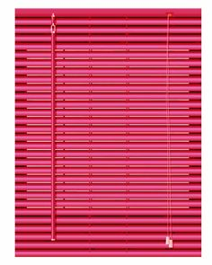 Aluminium Venetian Blinds (Red) - Andrezion Window blinds and Co.