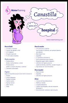 Preparar la canastilla para el hospital. Una lista que te será de gran ayuda www.matertraining.com