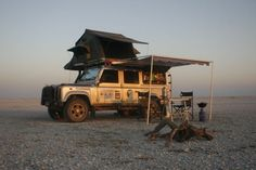 I want to do it!!!! Land Rover Defender 110 with Overland Kit on Makgadikgadi Salt Pans