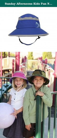 Sunday Afternoons Kids Fun N Sun Bucket Infant Royal. The Kids' Fun Bucket Hat will put a smile on your child, or grandchild's face and bring peace-of-mind for you. The need for children's sun protection is unprecedented; early education and use of natural sun care, including sun protective wear is critical for their future health. Simply having your child wear a certified sun hat outdoors during play can go a long way in assuring a safe, happy and sun-burn free childhood. Brightly…