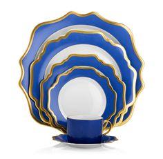 Anna's Palette Indigo Blue by Anna Weatherley | Michael C. Fina