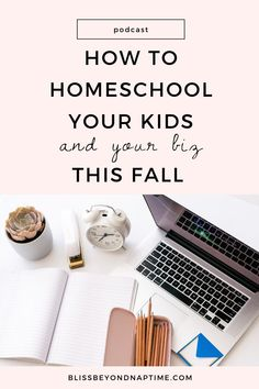 How to Homeschool Your Kids and Your Biz This Fall | While cases are relatively low in our neck of the woods, virtual learning for both my kids will be on tap for the year ahead. In this week's podcast I'm going to share how virtual learning while working from home is not only totally doable but how you can apply homeschooling principles to your biz and see it thrive too as your kids learn to navigate these unprecedented times alongside you and your own learning process. build your business Learning Process, Kids Learning, How To Start A Blog, How To Make Money, Work Life Balance, Work From Home Moms, Starting A Business, Social Media Tips, Parenting Hacks