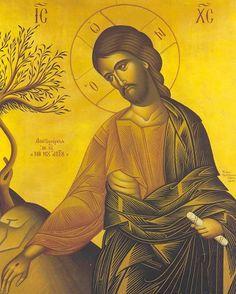 Jesús en Getsemaní.
