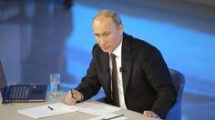 'Línea directa' de la A a la Z: Putin contesta a las preguntas importantes y curiosas de ciudadanos (Vídeos)