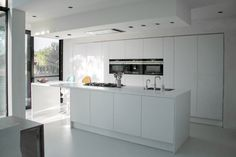 Niko Wauters: Moderne minimalistische woning met laag energieverbruik. Modern…