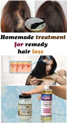 Homemade treatment for remedy hair loss