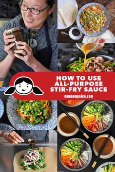 This roundup has all the recipes and easy weeknight dishes you can make with Nom Nom Paleo's All-Purpose Stir-Fry Sauce! Paleo Stir Fry, Beef Stir Fry, Chicken Stir Fry, Stir Fry Recipes, Paleo Recipes, New Recipes, Favorite Recipes, Paleo Whole 30, Whole 30 Recipes