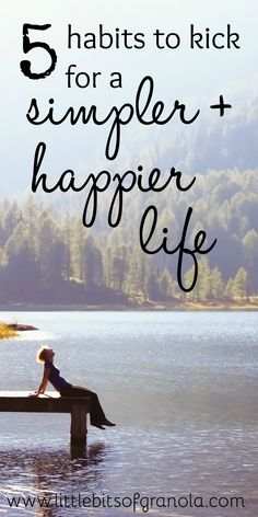 to Be Happy in Life: Five Things to Stop Doing NOW This is such a great list! These habits just hold you back and bog you down!This is such a great list! These habits just hold you back and bog you down! Good Habits, Healthy Habits, Self Development, Personal Development, Simple Living, Natural Living, Good Advice, Better Life, Self Improvement