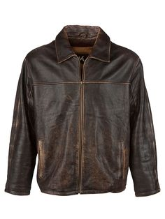 Vintage M G-III Vintage Aviator Jacket - XL, Regular Fit, size XL. Colour Brown and made from 100% Cowhide Leather with Brown Lining and and YKK Front Zip fastening.