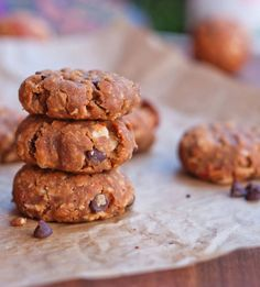 Flourless Peanut Butter Cookies from Eating Bird Food