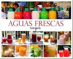 10 AGUAS FRESCAS to help you cool off this summer!
