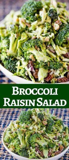 Broccoli Raisin Sala