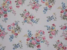 vintage floral fabric - Google'da Ara