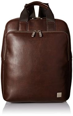 Knomo Luggage Dale Tote Backpack 15-Inch, Brown, One Size...