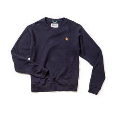 Boast Crewneck Heather Sweatshirt. Boast's signature sweatshirt in beautiful heather. 65% Cotton/35% Poly french terry.