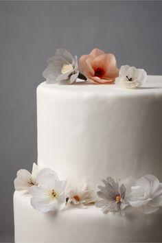 Sweet Papier Cake Pins for wedding cakes | BHLDN