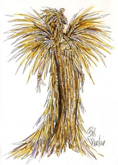Bob Mackie showcases his amazing Cher Las Vegas costumes with photo sketches of all the costumes Cher wears during her reign at Caesars Palace. Dress Sketches, Fashion Sketches, Fashion Illustrations, Fashion Drawings, Bob Mackie, Cher Costume, Las Vegas Tours, Cher Photos, Theatre Costumes
