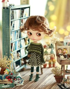 Miss yo 2015 Summer & Autumn - Vintage Hollow Pattern Sweater for Blythe