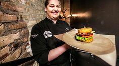 Mac & Cheese Attack Burger at Rockit Burger : Hamburger Paradise 3 Pictures : TravelChannel.com