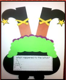 Just Wild About Teaching: Witch in a Pot- Halloween Re-Do!