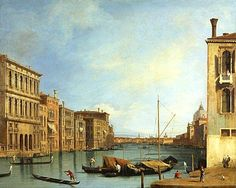 The Gran Canal from the Campo San Vio - Canaletto Other great paintings in Edinburgh at: http://www.studyinedinburgh.com/blog/14-breathtaking-paintings-you-can-see-in-edinburgh