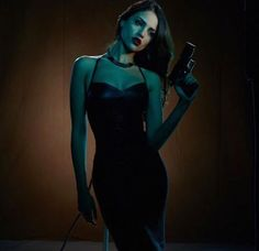 Eiza Gonzalez as Satanico Pandemonium - From Dusk Till Dawn Badass Aesthetic, White Aesthetic, Good Girl, Warrior Girl, Dark Photography, Character Inspiration, Actresses, Celebrities, Photos