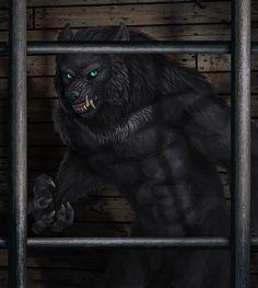 werewolf by Veirgacht on Deviantart