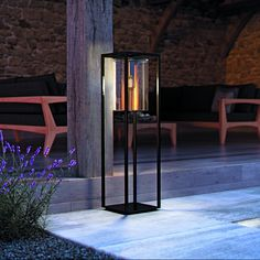 scarce free standing outdoor lights floor and table lamps lamp shades kitchen light replacement globes for Outdoor Table Lamps, Outdoor Wall Lighting, Landscape Lighting, Modern Lighting, Exterior Lighting, Dining Table, Free Standing Lamps, Floor Standing Lamps, Outdoor Flooring