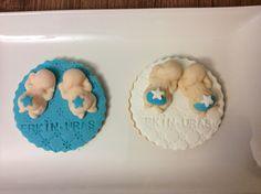 Bebek kurabiyesi-İkizler için  Baby cookies-twin brothers