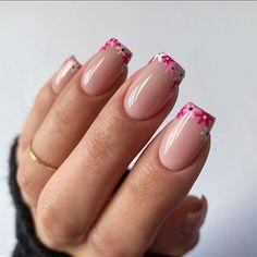 Polygel Nails, Nail Manicure, Nail Polish, Funky Nails, Trendy Nails, Perfect Nails, Gorgeous Nails, Cute Acrylic Nails, Cute Nails