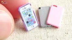 Como fazer Miniatura iPhone + Capas de iPhone - Faça você mesmo