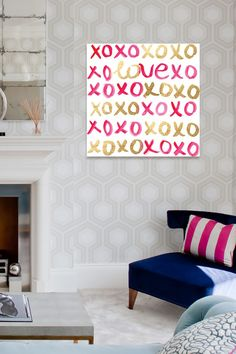 Love XO Canvas Art by Oliver Gal Gallery on @HauteLook