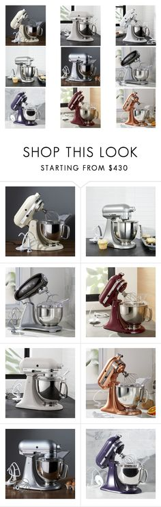 """""""Cake mixer"""" by stylev ❤ liked on Polyvore featuring interior, interiors, interior design, home, home decor, interior decorating and Crate and Barrel"""