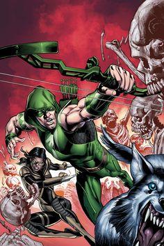 GREEN_ARROW_47 : El Día de los Muertos es aquí, y debido a la traición de la Tarántula, el cartel Esqueleto ha capturado flecha verde!  ¿Va a sobrevivir a la ceremonia de oscuridad ... o formar parte del imperio de Jefe de los huesos? | masacre80