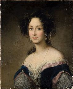 Christina Robertson (1796 – 1854) Портрет княгини Юсуповой