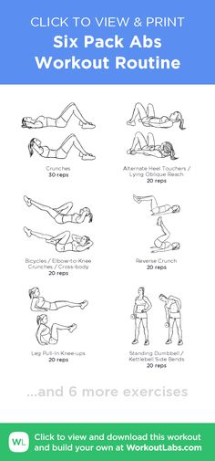 Exercise plan created with butt workout, ab workout plans, Sixpack Abs Workout, Abs Workout Video, Abs Workout Routines, Ab Workout At Home, At Home Workouts, Free Workout, Back And Abs Workout, Workout Kettlebell, Workout Regimen