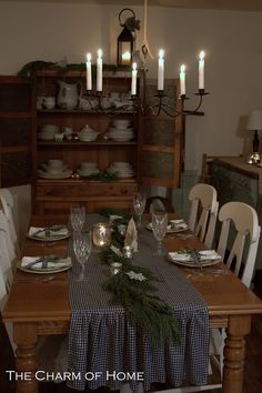 The Country Farm Home: Three Table Runners--One Tutorial