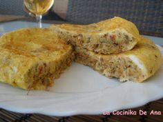 Tortilla de garbanzos, Receta por La Cocinika De Ana - Petitchef