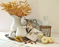 You can do this…Creating a Fall Vignette Get the step by step tutorial to a perfect vignette !