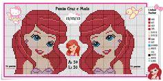 Ponto Cruz e Mais: Princesa Ariel!!